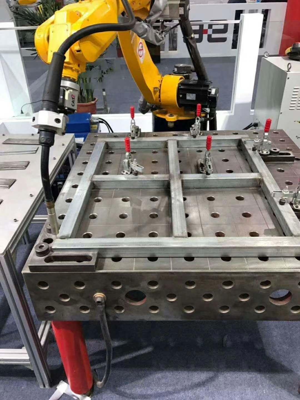 凯创对三维柔性焊接工装夹具基本的设计要求